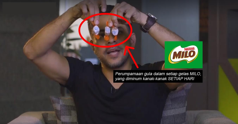 Minuman Milo Yang Dilabel 'Pembekal Tenaga' Sebenarnya 'Makanan Tidak Sihat' Tinggi Kandungan Gula?